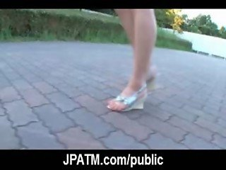 Public Sex Japan - Sexy Japanese Teens Fucked in Public 17
