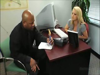 Gianna Michaels Mr Marcus Interracial Secretary Porn