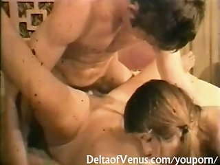 Vintage Erotica 1960s - Hairy Pussy Teens Fucked