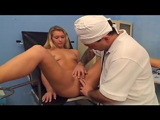 Doctor helps with first orgasm