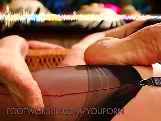 Sexy Foot Fetish Fantasy