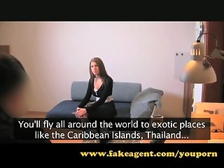 FakeAgent Students creampie and anal