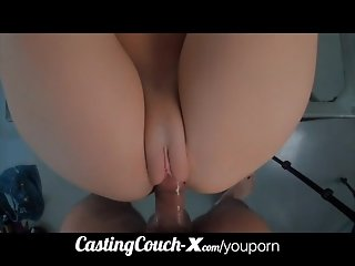 CastingCouch-X crazy facial for first time amateur