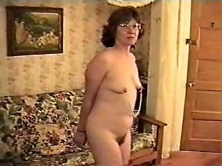 Amateur Wife Cuffed Nude and Exposed in Bondage