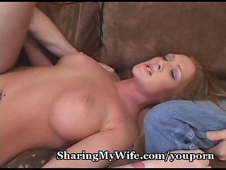 Hot Redhead Submissive To New Cock