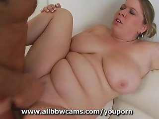 Horny Bbw Pussy Wants Her Fat Tits To Cum Explode
