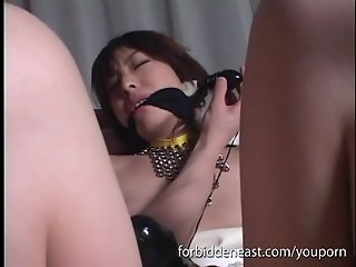 Uncensored Japanese Busty Teen BDSM Sex