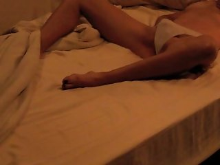 Sexy wife caught playing with herself on hidden camera, Part 1