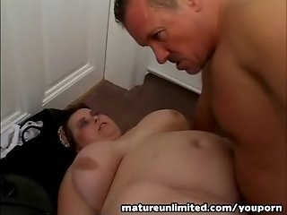 Threesome at home mature