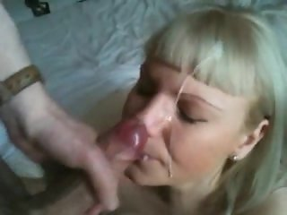 Facial cunpilation for spunk lovers and cum whores