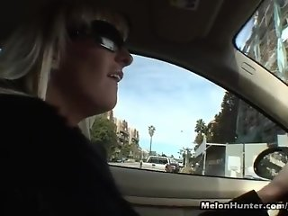Big titty blonde milf fucked and swallows cum