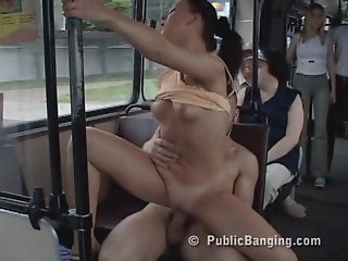 Public Sex In a City Bus