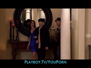 Four young swingers share a mansion for twenty four hours