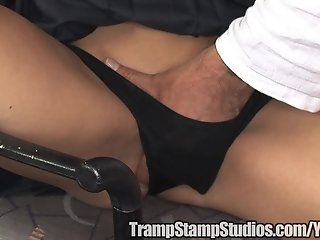 Teacher slams a hot chick in his office