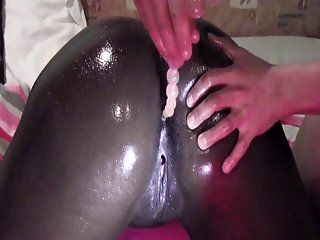 Black German Girl fucked first time anal (Berlin)