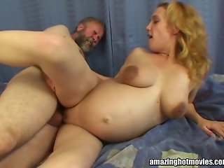 Pregnant Fucked By An Oldie 2