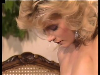 Blonde bombshell helps with erection problem - Golden Age Media