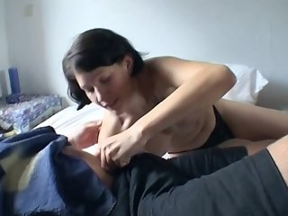 Pierced German pussy gets a pounding