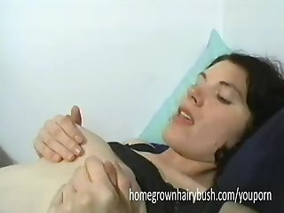 Homegrownhairybush's Zoey And Felix Give Each Other Noisy Orgasms