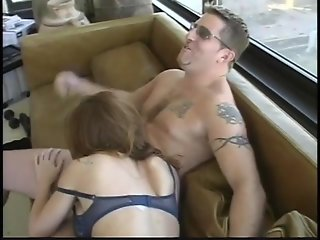 Busty amateur with glasses gets spanked, fucked and semen-sprayed - Lord Perious