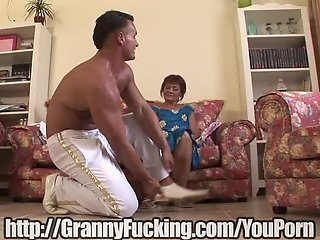 This hot granny loved to get fucked