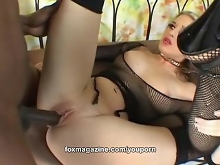 Watch Jade Leshay interracial fuck in stockings only at FoxMagazine