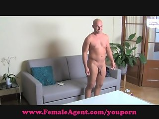 FemaleAgent. Big cock casting.