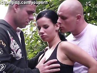 DOUBLE PENETRATION in PUBLIC part 1