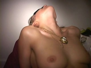 Group sex couple fucks amateur blonde wife