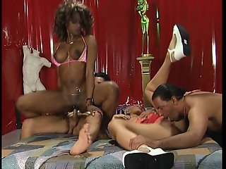 Hot and heavy group sex - DBM Video