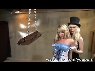 Alice In Wasteland. A BDSM Halloween Adventure with Trisha Uptown