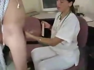 handjob young doctor