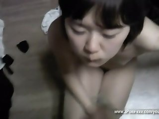 self shot korean teen gets oral sex