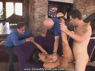 Big Boobs Swinger Wild Ride