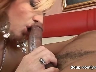 Interracial hardcore with DCup's Brittany Blaze