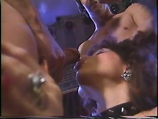 Vintage MILF takes multiple cocks - Gentlemens Video