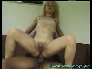 shemale needs a big black cock