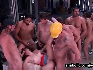 Chanel Chavez GangBang by Anabolic