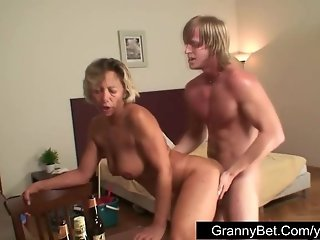 The best cure from hangover is old pussy