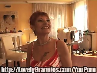 Granny gets a surprise!
