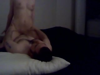 Hot blonde gets pounded and creampied