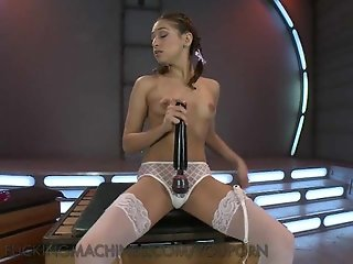 Cutie Babe Fucks Her Pussy with Toys