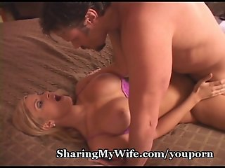 Cuckold Hubby Watches Hotwife Get Fucked