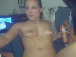 Gf Amy Messy Food Webcam