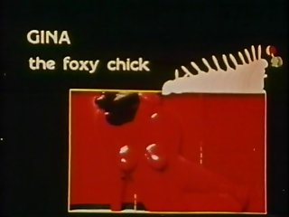 Gina The Foxy Chick - Entire Vintage Interracial Movie