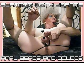 SLAMMIN WITH JOANNE - ANAL BEADS AND DILDOS