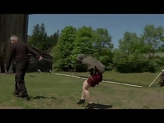 Pervert Outdoor BDSM Slave Training