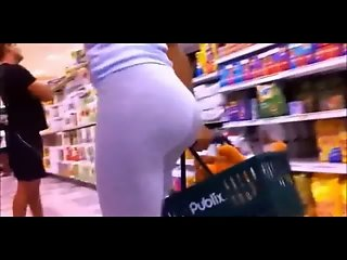 Public Ass - Woman with a round & huge ass