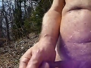 Coming naked in nature