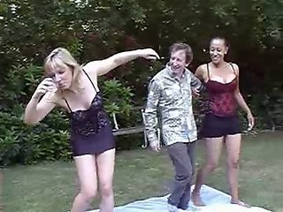 British lesbians have another fight in the garden